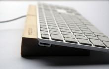 Träställ till Apples tangentbord