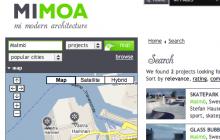 Databas över modern arkitektur