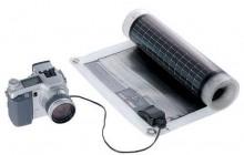 Ladda mobilen/datorn/kameran med solkraft