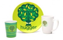 Treehugger kopp, mugg och fat
