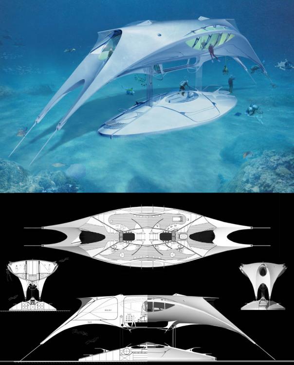 Seaspace - Underwater habitat/observatory