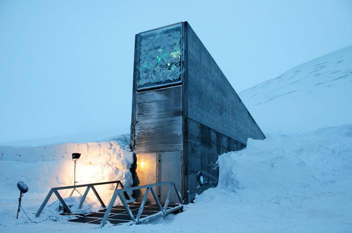 Foto: Mari Tefre/Svalbard Globale frøhvelv