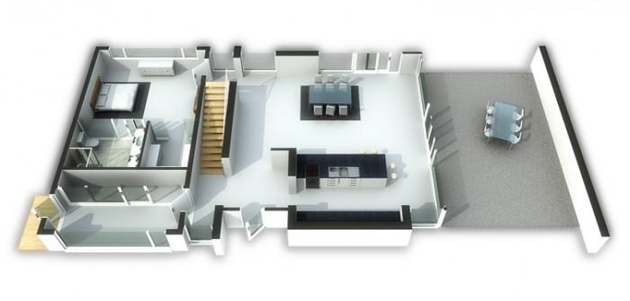 Vivendelstien - Våning 1