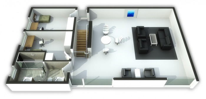 Vivendelstien - Våning 2