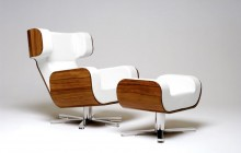 WING Lounge Chair av Michael Malmborg
