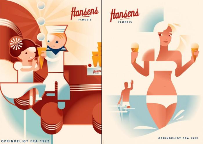 Hansens Flødeis