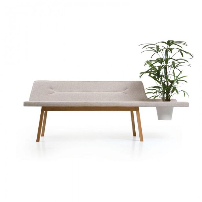 Lin Pod Bench - Designad av Leif.designpark för Atlantico