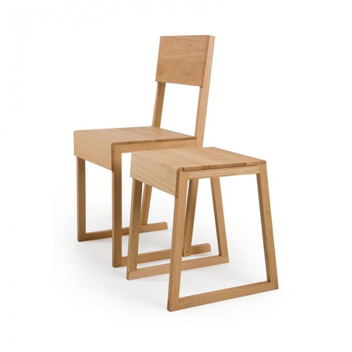 Chaise & Tabouret - Designad av Marina Bautier för Atlantico