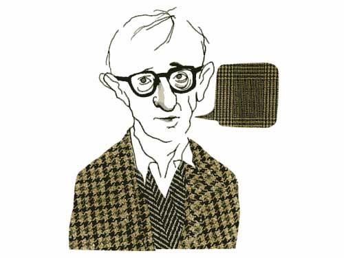 Woody Allen / Illustration: Stina Wirsen