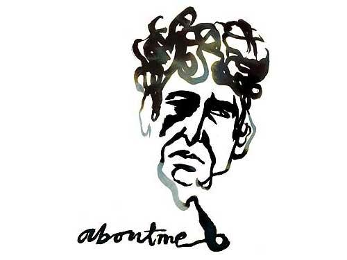 Bob Dylan / Illustration: Stina Wirsen