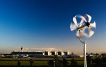 Ett litet vindkraftverk