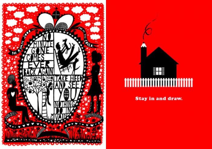 Rob Ryan, No Minute Gone... / Jason Munn, Stay in and draw