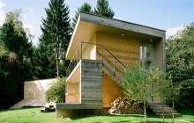 Trähus i Österrike