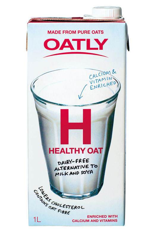 Oatly - Gamla frpackingen