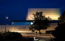 Vackert konserthus i Poitiers
