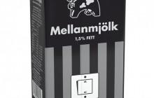 Svart mjölk från Arla