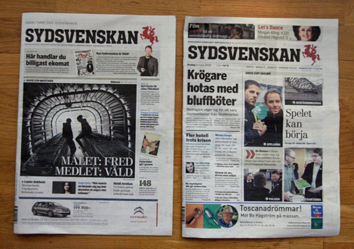 Sydsvenskan - Ny / Gammal