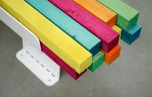 Frame – En färgglad bänk