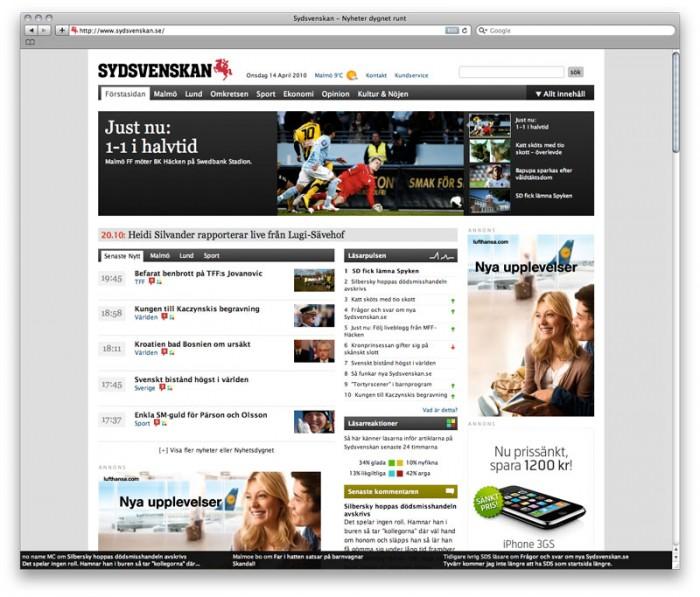 Nya designen / Sydsvenska.se