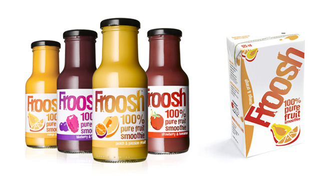 Froosh - Gamla förpackingar