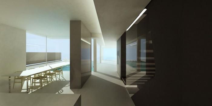 Villa i Aten / mplusm