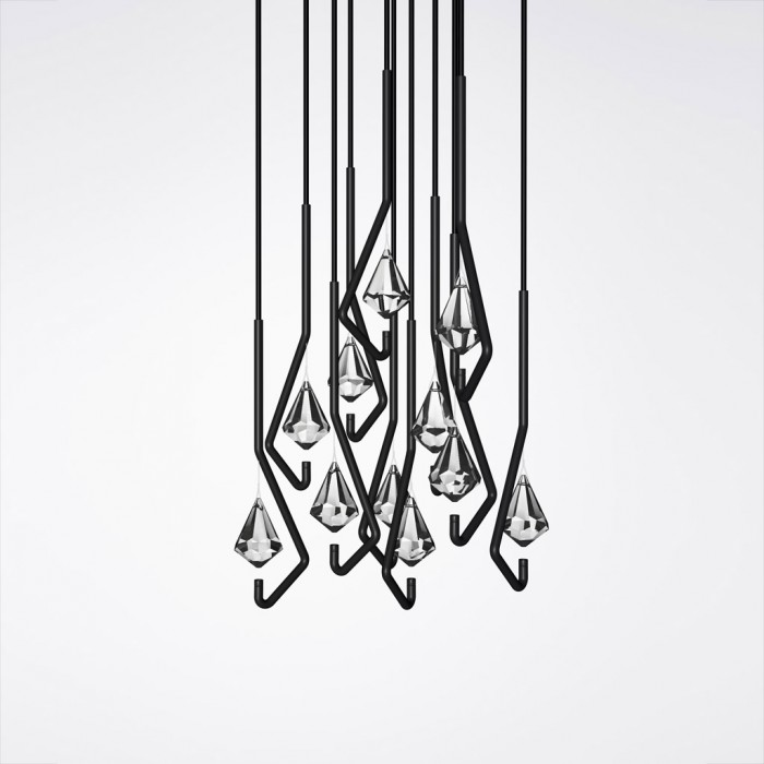 One Crystal Chandelier (1)