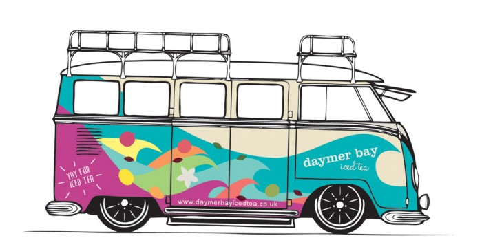 Daymer Bay Iced Tea / Camper van